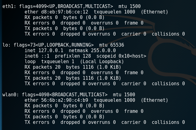 Create an Intercepting Router with Kali Linux and a
